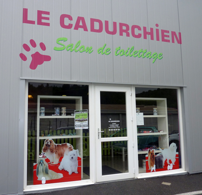 Le cadurchien cahors salon de toilettage pour animaux for Salon du toilettage