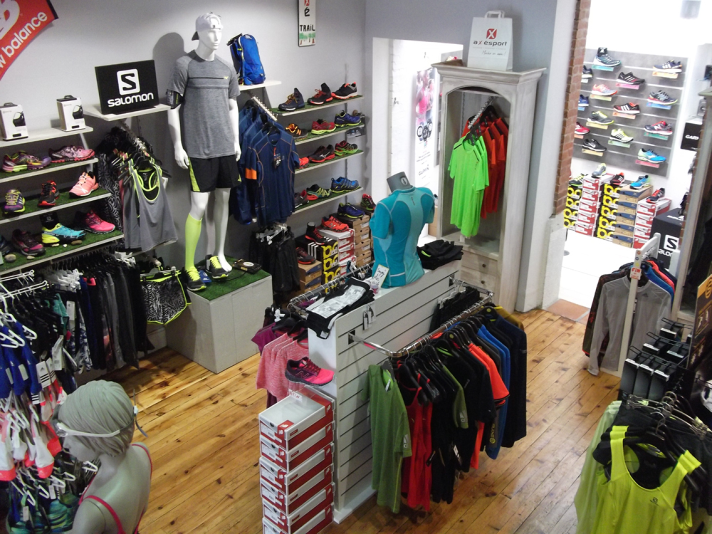 boutique de vetement de sports